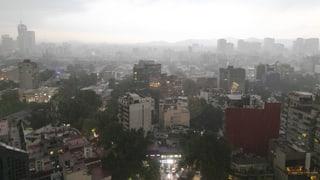 In Mexiko-Stadt herrscht dicke Luft