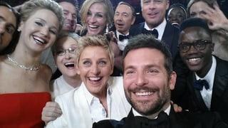 Ellen DeGeneres: Ihr Oscar-#Selfie bricht Rekorde