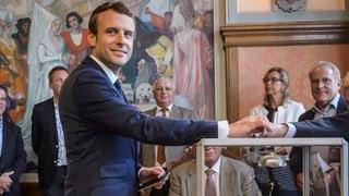 Clera victoria per Emmanuel Macron