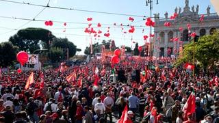 Bewährungsprobe für Italiens Ministerpräsident