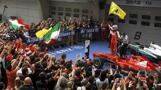 Alonso gewinnt GP von China - Hülkenberg punktet für Sauber
