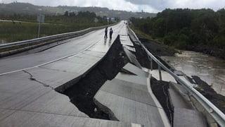 Heftiges Erdbeben in Chile endet glimpflich
