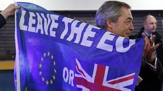 «Farage würde selbst über Glasscherben zur Urne kriechen»