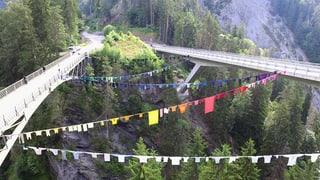 Emprim'exposiziun da Land Art en la Val Stussavgia