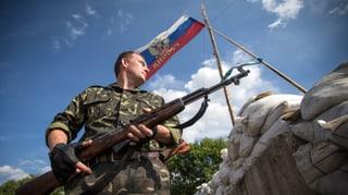 Waffenruhe in der Ostukraine bröckelt