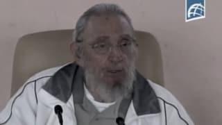 Seltener Moment: Fidel Castro zeigt sich in der Öffentlichkeit