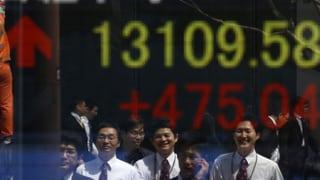 Nikkei-Index wegen Geldflut auf Rekordhoch