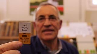 «Aeschbacher» und die letzte Kartonbillett-Druckmaschine