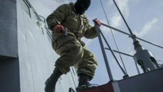 Russen entern drei ukrainische Kriegsschiffe