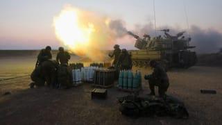 «Israel feuert in hoher Frequenz Raketen auf Gaza ab»