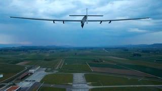 Piccards «Solar Impulse 2» auf Jungfernflug