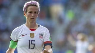 US-Fussballerin Rapinoe und Trump geben sich Saures
