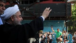 Amtsinhaber Hassan Rohani setzt sich durch