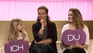 Töchter-Duell: Karina Berger mit ihren Girls bei «Ich oder Du» (Artikel enthält Video)