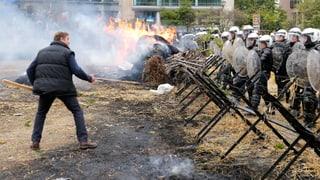 Tausende Bauern mischen Brüssel auf