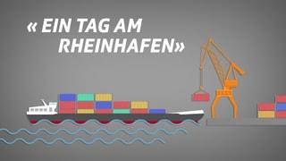 Ein Tag an den Basler Rheinhäfen