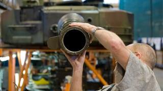 Bundesrat will Waffenexporte lockern