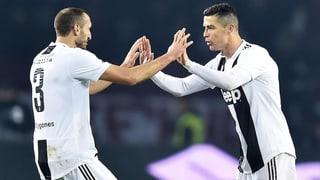 Juventus und Real mit knappen Derbysiegen (Artikel enthält Video)