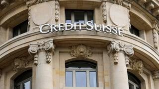 Credit Suisse kommt nicht vom Fleck
