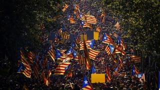 Hunderttausende demonstrieren für die Unabhängigkeit Kataloniens