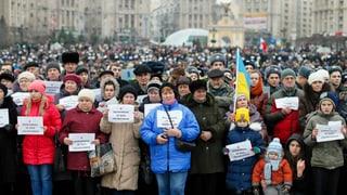 Gewalt in Donezk – Trauer in Kiew