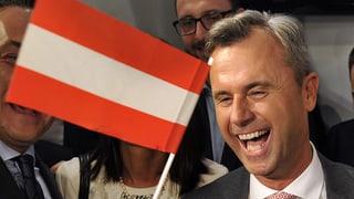 Elecziuns presidialas en l'Austria: FPÖ gudogna l'emprima runda
