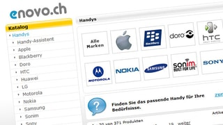 Webshop «Enovo.ch» ist Konkurs