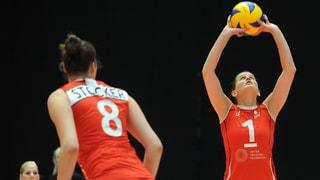 Volleyballerinnen deklassieren Nordirland