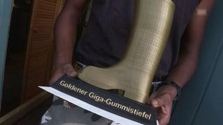 «G&G» und Tina Nägeli verleihen den «Goldenen Gummistiefel» (Artikel enthält Video)