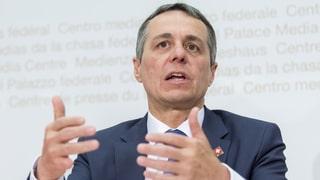 Cassis: «Sind besorgt über eine militärische Eskalation»
