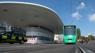 Flüchtlinge nutzen 8er-Tram von Basel nach Weil