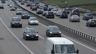 Aargau: Standesinitiative für sechs Spuren auf A1 liegt vor