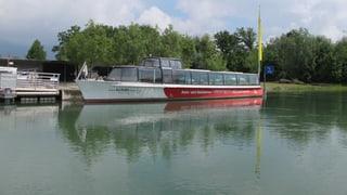 Schifffahrt auf der Aare muss eingestellt werden