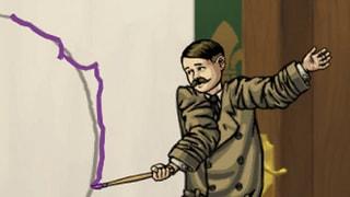 Haikiew: «Double Hitler»