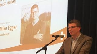 SVP schickt Jungpolitiker Mike Egger ins Rennen