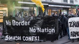 4 policists blessads a Basilea