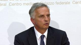 Didier Burkhalter sa retira sco cusseglier federal