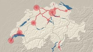 Bundesrat will Autobahnen mit sechs Spuren