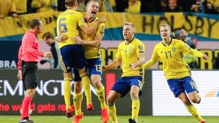 La Svezia ha battì l'Italia cun 1:0