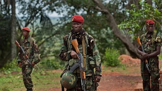 Frankreich setzt Soldaten in Zentralafrikanischer Republik ein