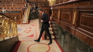 Für den spanischen Ministerpräsidenten wird es knapp