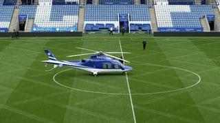 Helikopter von Klubbesitzer stürzt auf Parkplatz