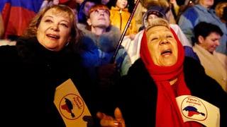 Rentner auf der Krim profitieren von Machtwechsel
