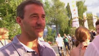 Gian Simmen ist zum vierten Mal Papi