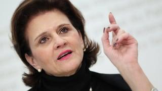 Zuierst ist die lateinische Schweiz, dann erst eine Frau. Doris Fiala verwirft eine Frauen-Kandidatur aus Strategiegründen.