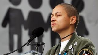 Aufgebrachte Teenager bringen die Waffenlobby in Bedrängnis