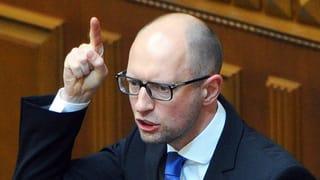Ukrainischer Regierungschef: «Putin will die ganze Ukraine»