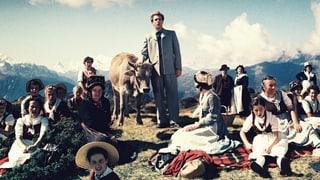 Die ersten Schweizer Heimatfilme in Farbe