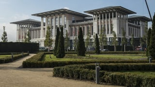 «Sultan» Erdogan zieht in den Weissen Palast