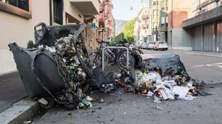 Massive Sachschäden nach Randale in Zürich